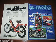 RIVISTA LA MOTO=1976/11=PROVA PROVA LAVERDA 1000=TEST SUZUKI GS 400/750=BOL D'OR