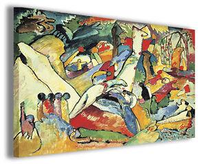 Quadro Wassily Kandinsky vol XIII Quadri famosi Stampe su tela ...