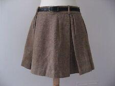 NWOT Ralph Lauren Blue Label wool/alpaca tweed pleated skirt