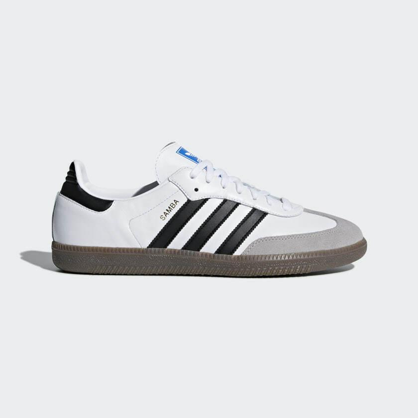 Adidas originals samba OG Weiß schwarz gum B GRADE 5-10 retro terrace schuhe bnib