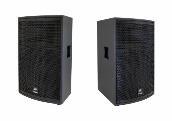 peavey sp2 15 500w pa speaker black for sale online ebay. Black Bedroom Furniture Sets. Home Design Ideas