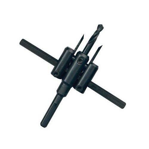 Réglable Trou Cutter 30-120 mm-Silverline 950990