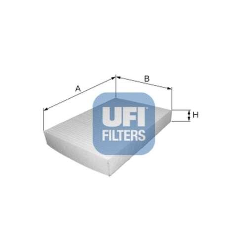 Fits Ford Mondeo MK4 2.5 Genuine UFI Cabin Pollen Interior Air Filter