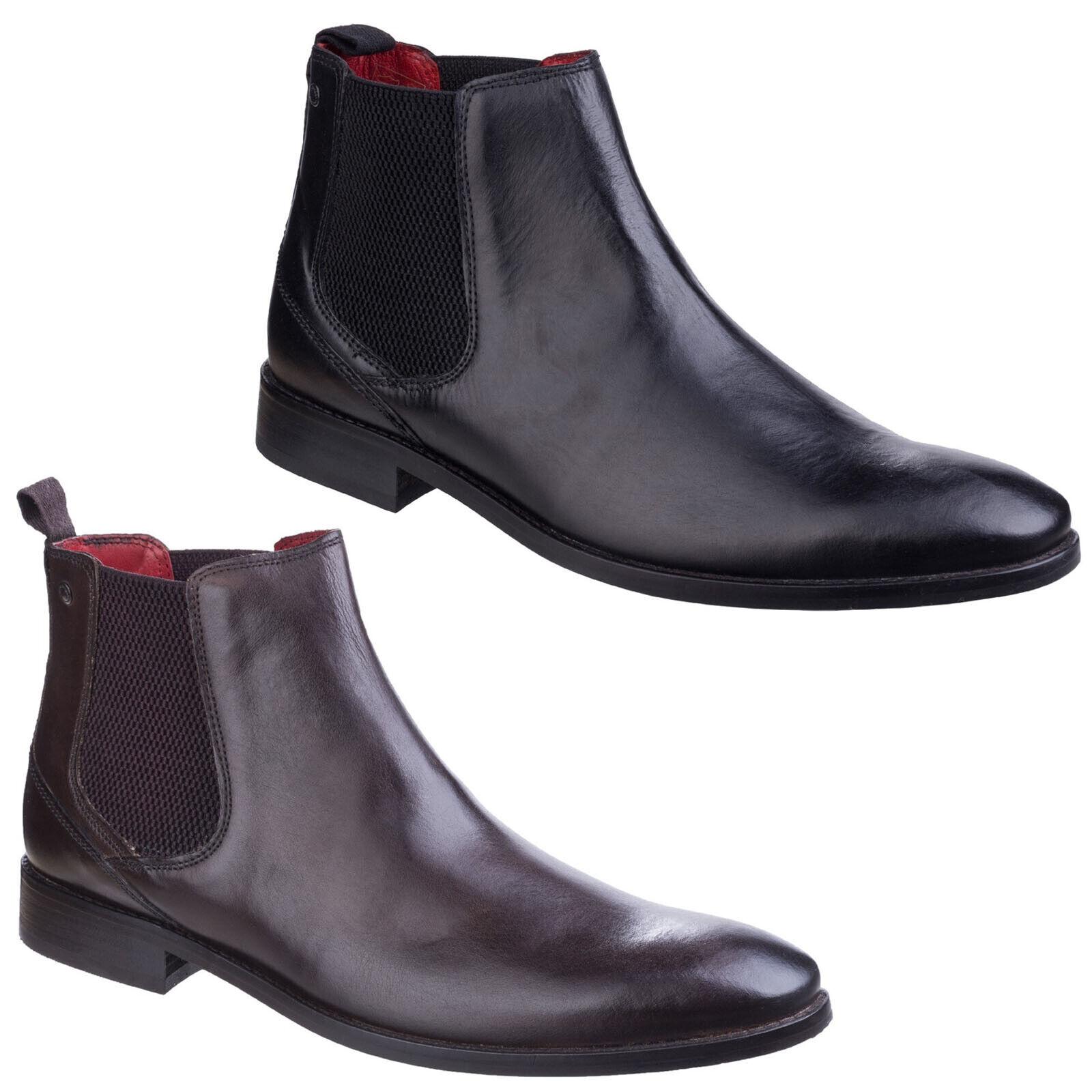 Base London Cheshire Chelsea stivali Formal Leather Smart Dealer  Mens scarpe  consegna gratuita e veloce disponibile