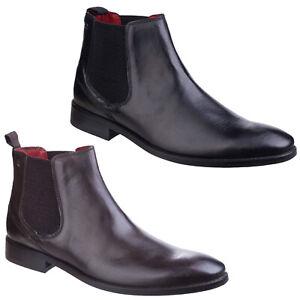 e7e87cbda98ff9 Image is loading Base-London-Cheshire-Chelsea-Boots-Formal-Leather-Smart-
