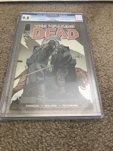 Walking Dead #108 CGC 9.8 1st Ezekiel And Shiva Image Comics Kirkman GRADED