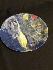 The Marc Chagall Plate by Georg Jensen 1972 Limited Edition