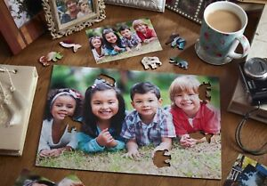 Personalised Family Jigsaw Puzzle any Nom Message Picture Printed Poison Wedding 							 							</span>