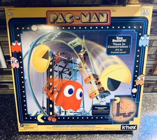 KNEX PAC-MAN Roller Coaster Building Set Roller Coaster Building 432 Parts