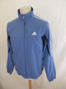 48a5b261ff Veste de survêtement Adidas Bleu Taille S à - 48% | eBay