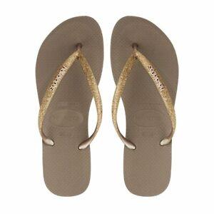 Havaianas Women Slim Glitter Flip Flops
