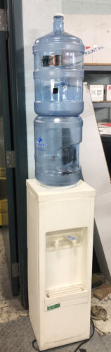 Water Cooler Dispenser with 2 Five Gallon Bottles With Caps
