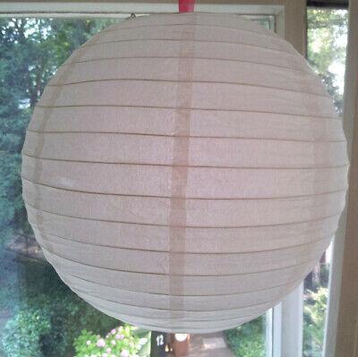 Stabil Lampenschirm Rund Japankugel Dickes Papier Reispapier Papierlampe Lampion