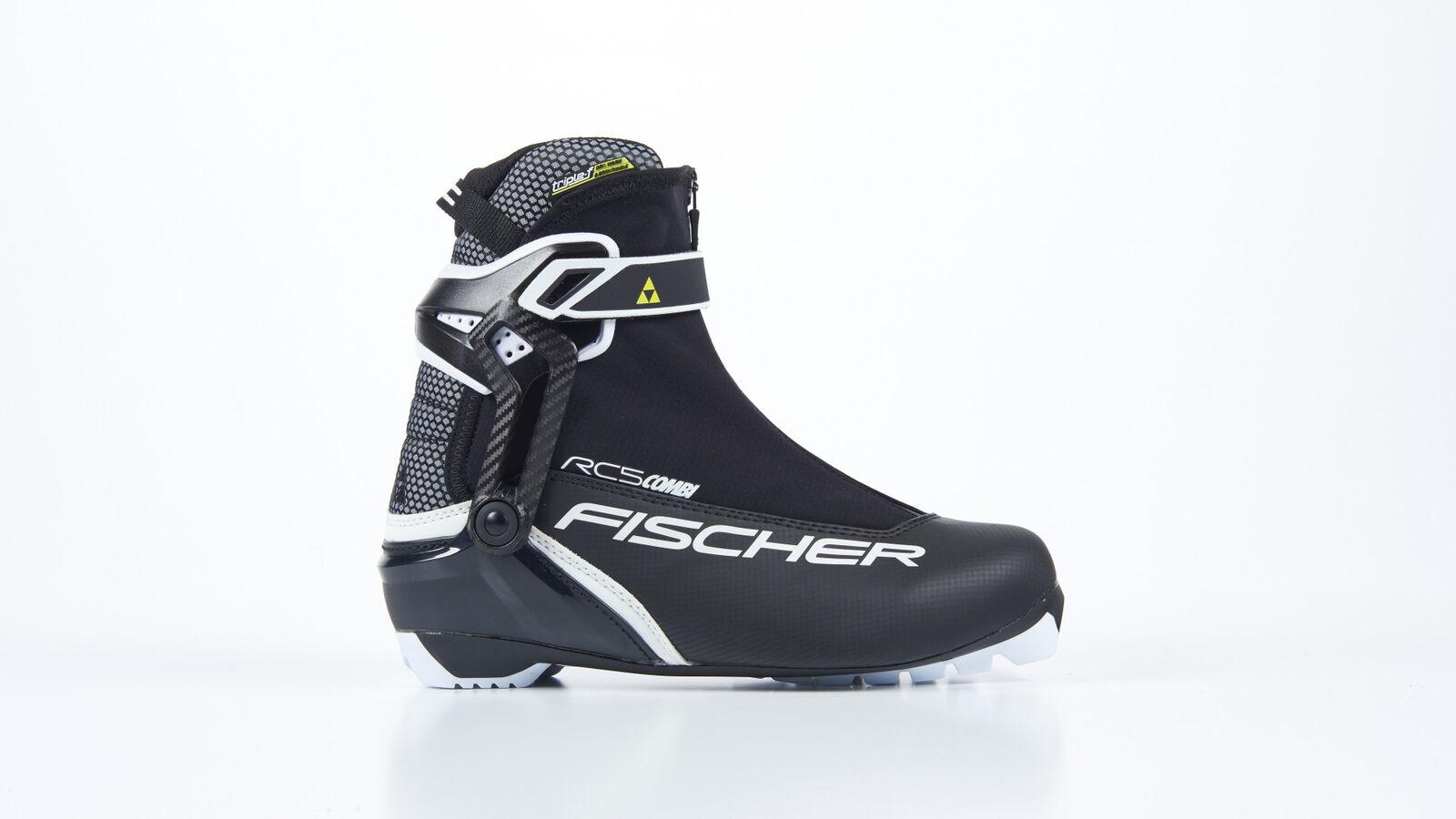 Fischer esquí a campo traviesa zapatos rc5 combi   ¡no ser extrañado!