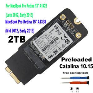 """NUOVO 2TB SSD per Apple MacBook Pro/15"""" 13"""" iMac 21.5"""" 27"""" fine 2012 inizio del 2013"""