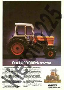 A3-Fiat-Fiatagri-New-Holland-Advert-Vintage-Tractor-Brochure-Poster-Leaflet