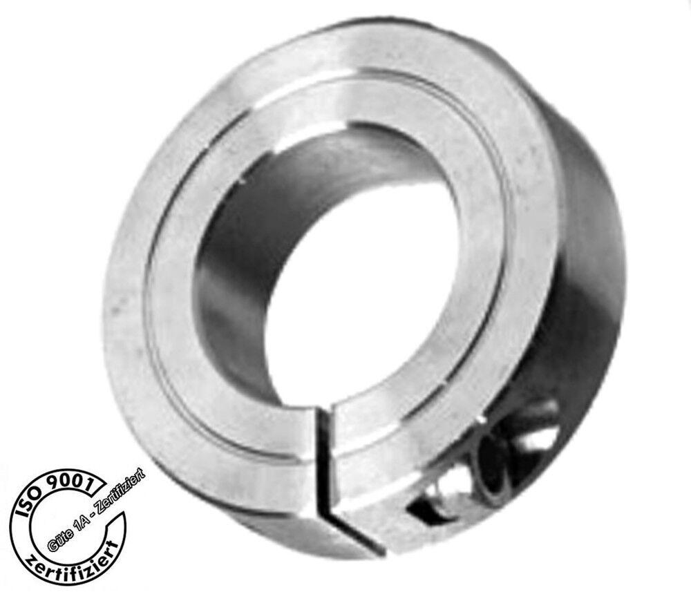 Klemmringe - geschlitzt - aus Edelstahl - D = 45mm