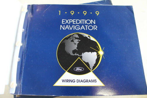 1999 Factory Ford Expedition Navigationl Wiring Diagrams Service Manual Book