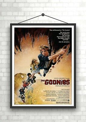 The Goonies Vintage Classic Large Movie Poster Print A0 A1 A2 A3 A4 Maxi