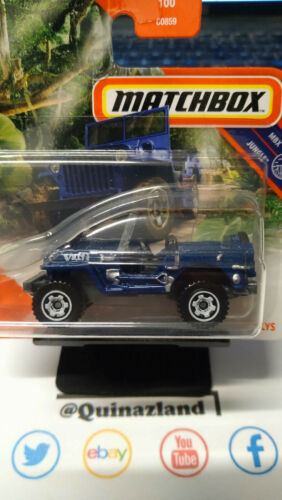 NP33 Matchbox Jeep Willys  2020-068