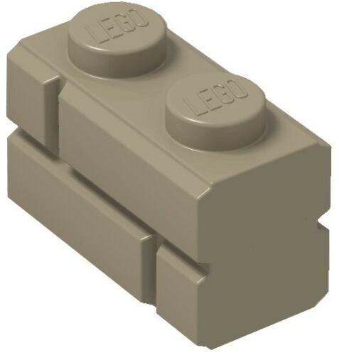 ☀️Lego x50 DARK TAN 1x2 Masonry Bricks building Part Pieces Bulk Lot #98283 Wall