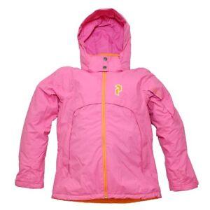 Peak-Performance-HiPe-Diamond-Girls-Winter-Ski-Snow-Jacket-Pink-160cm-14yrs-NEW