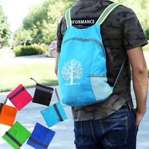 Laessig-langlebig-faltbare-Unisex-Rucksack-Outdoor-Reise-Schulter-Schultaschen