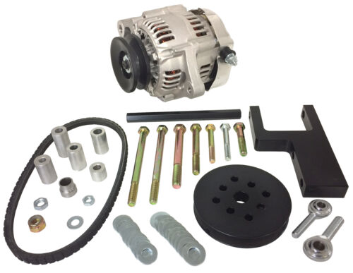 S//B Chevy Denso 60 Amp Mini One Wire Alternator Kit for Short Water Pump  #1623