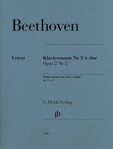 2 Sheet 051481308 2 No 2 in A Major Op Beethoven Beethoven Piano Sonata No