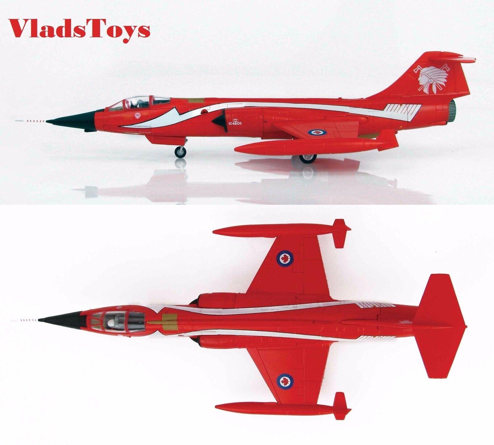 Hobby Master 1:72 CF-104 Starfighter Cepillo de dientes 421 escuadrón CAF 2018 HA1036
