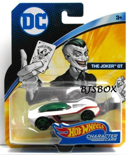 Hot Wheels DC Comics THE JOKER GT Character Cars Superman New NIP HTF