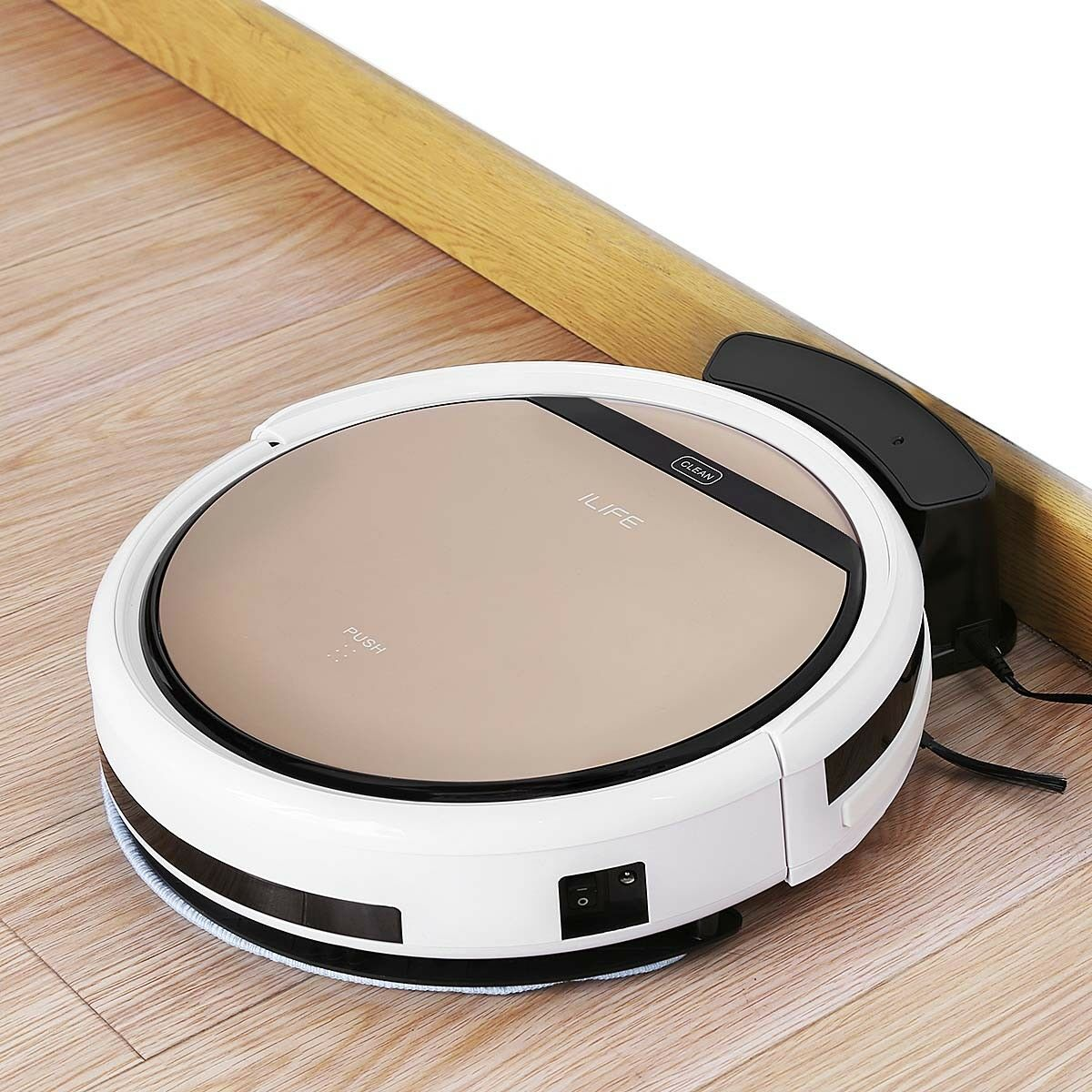 ILIFE V5S Pro Smart Robotic Vacuum Cleaner Dry Wet Sweeper IR Remote Control