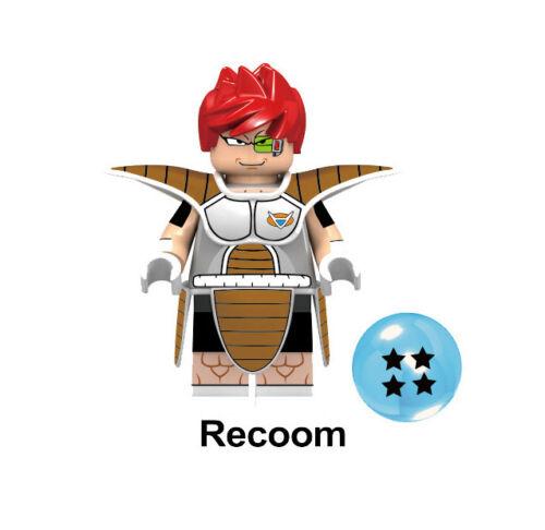 Dragon Ball Z Goku Vegeta Rare RADITZ recoom figure block building toy for kids