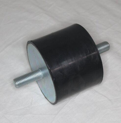 Tampon de Caoutchouc Type A 50-200mm Métal Amortisseur Vibrations Silent Bloc