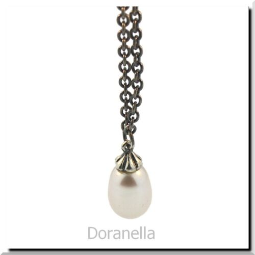 Authentic Trollbeads 54110 Necklace Silver Fantasy//Freshwater Pearl 43.3 inch:0