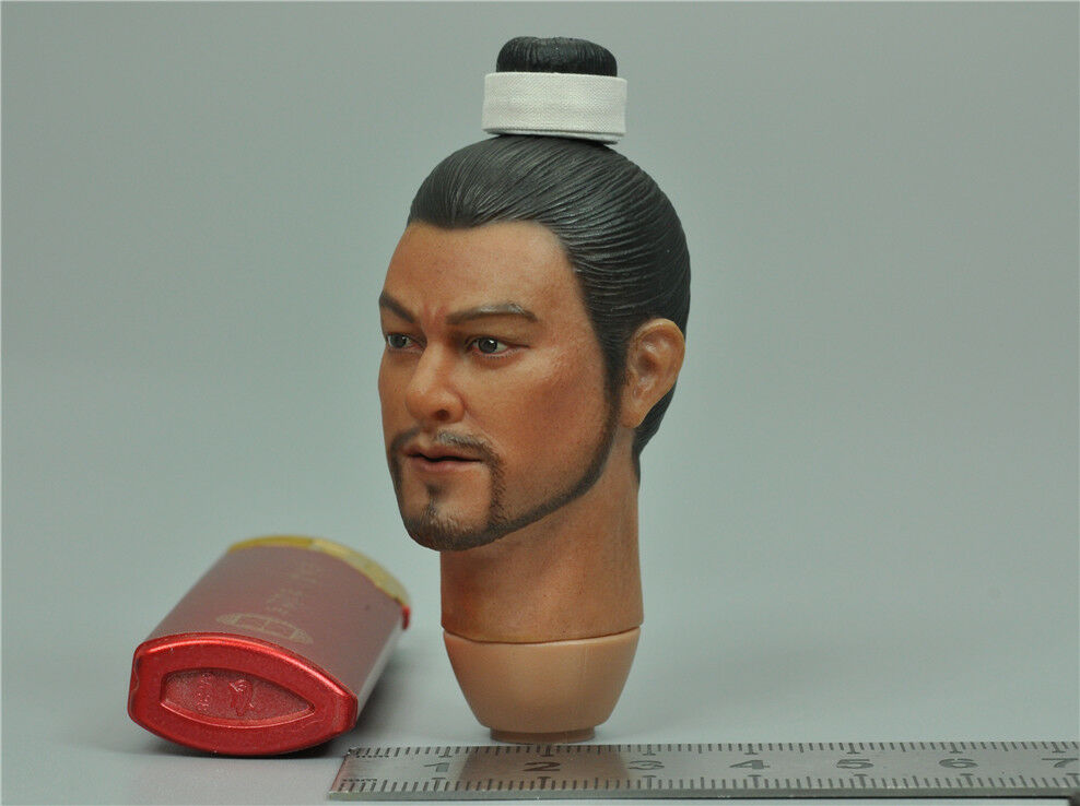 Headsculpt A for Kongling Pavilion KLG-R013 Qi Qi Qi troop guard leader 1 6 Scale f5bf32