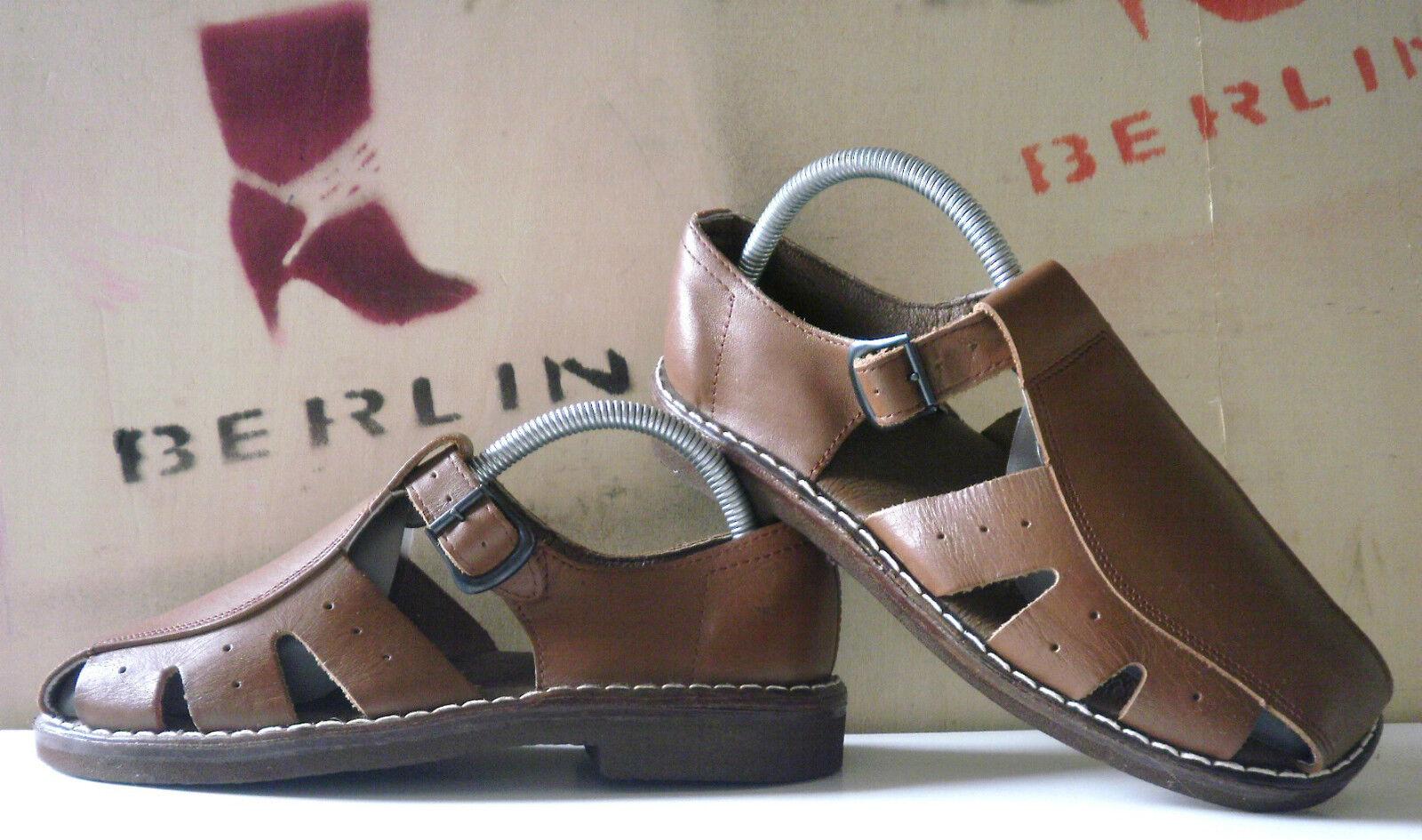 Nettuno Sandalo Uomo Scarpe 70er True Vintage 70s Scarpe da Bagno Estate Scarpe NOS