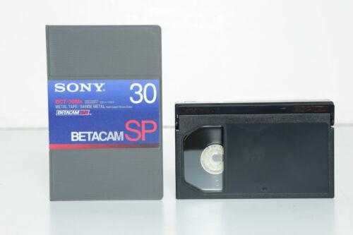 NEW Sony BetaCam  SP Video Cassette BCT-30ma
