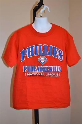 Mlb Philadelphia Phillies Jugendliche S Flaw 8 Modestil Neu W Rotes T-shirt 38sc Moderater Preis