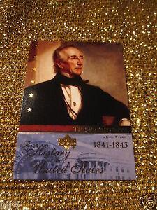 President-John-Tyler-History-USA-Upper-Deck-Card-US-T10