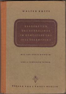 Impartial Maladies Et Parasites En 1944 Ornementale-afficher Le Titre D'origine