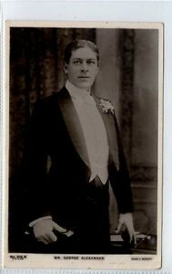 Gi338-376-Real-Photo-of-Theatre-Star-George-Alexander-1907-G-VG-Beagles-219-K
