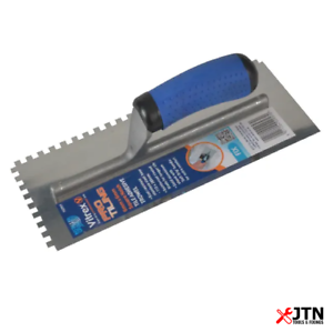 """Vitrex 102957 Professional Stainless Steel 6mm Notched Adhesive Trowel 11 x 4½/"""""""