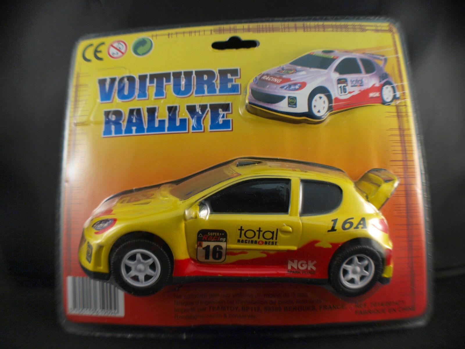 TeamToy ◊ Peugeot 206 Rallye ◊ 16 cm ◊ boxed en boîte