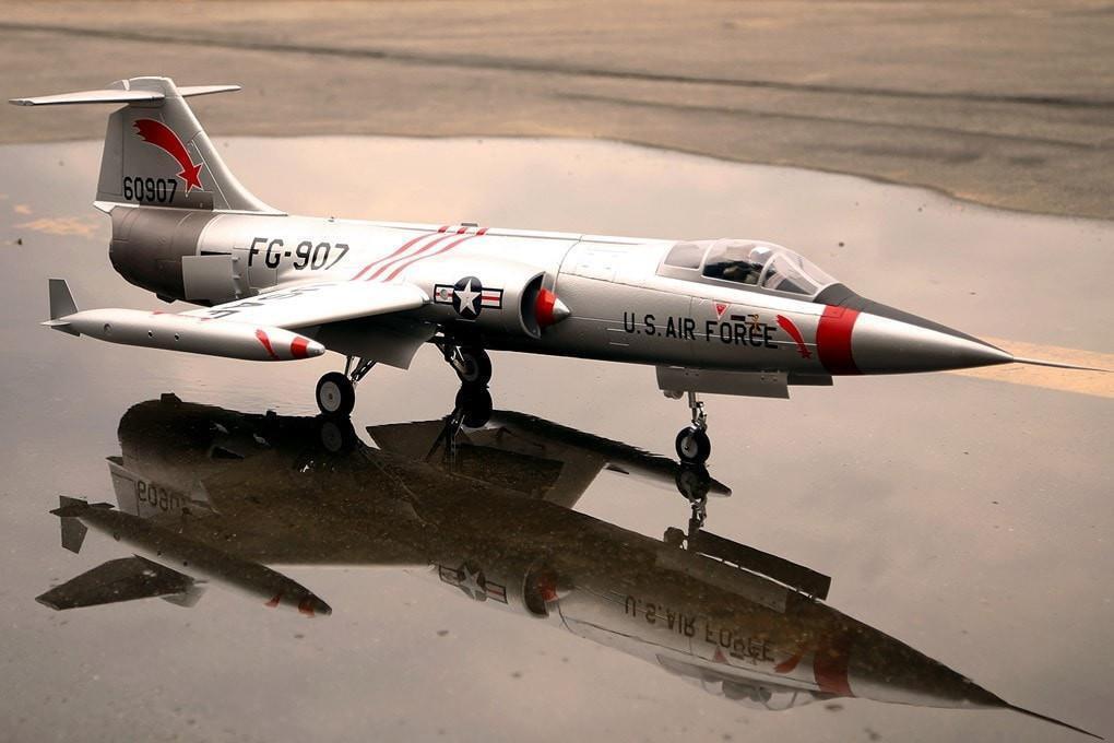 Freewing F-104 Starfighter Plata 90 mm Edf Jet-PNP