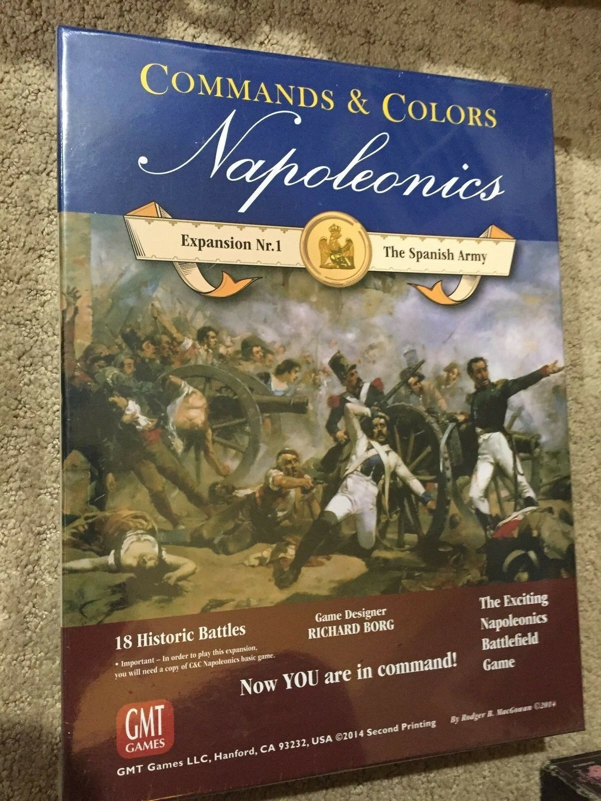 Commands & colors Napoleonics Expansion - The Spanish Army - NEW in SHRINK - GMT
