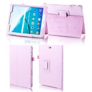 Para-Samsung-Galaxy-Tab-a-10-5-T590-T595-Rosa-Funda-Piel-Artificial-Cubierta