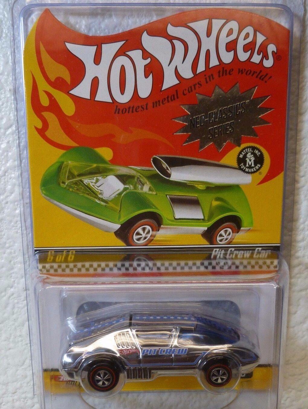 AWESOME  RLC REDLINE CLUB CAR - HOT HOT HOT WHEELS Neo-Classics SERIES - PIT CREW CAR d0431e