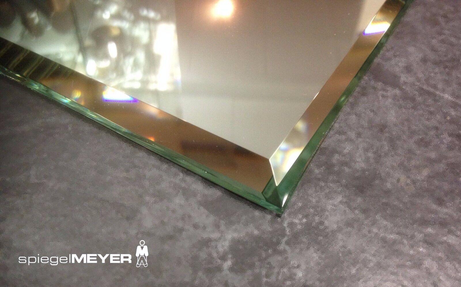 SPIEGEL Kristallspiegel Badspiegel Wandspiegel Design STEILFACETTE Facette