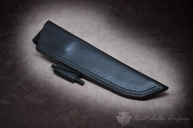 Bark River Bushcrafter II 'The Far East' Custom Leather Bushcraft Sheath